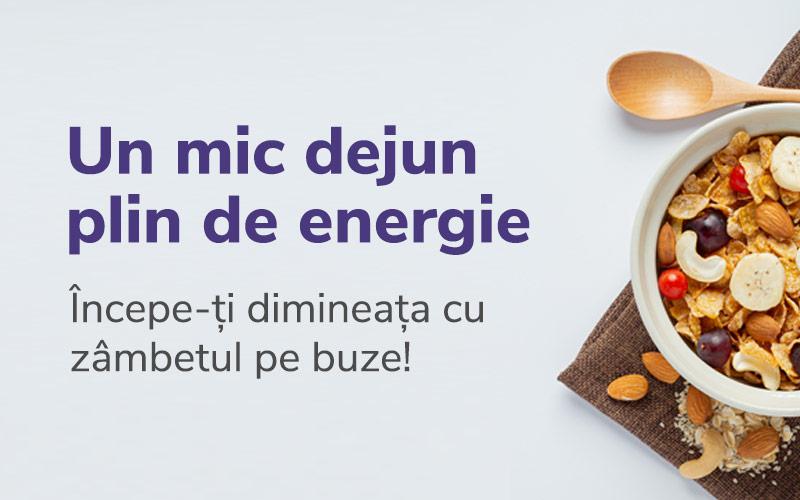 Un mic dejun plin de energie